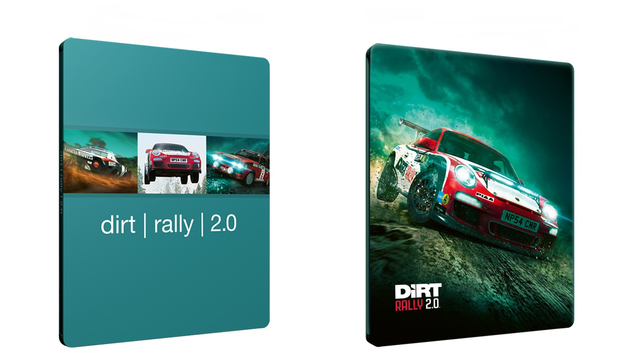 Steelbook Dirt Rally 2.0 xbox one Ps4