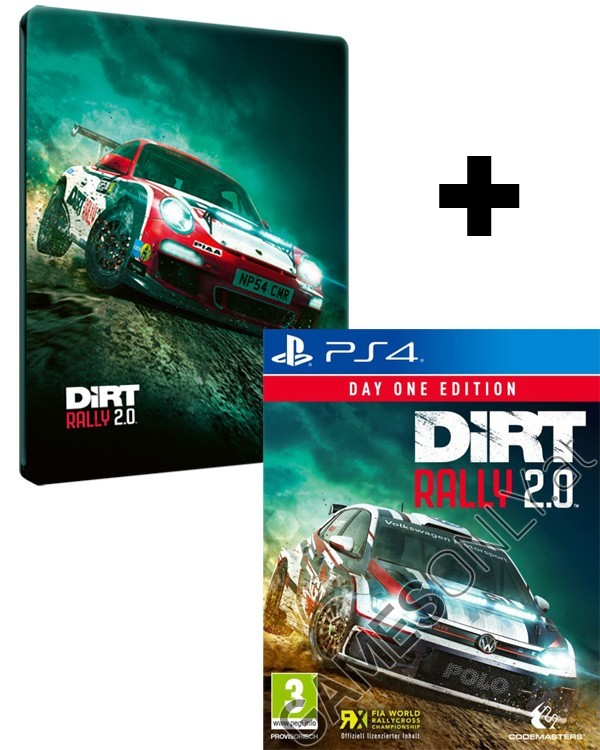 Steelbook de Dirt Rally 2.0