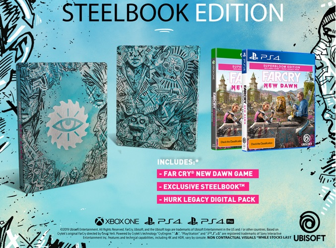 Far Cry New Dawn Steelbook Edition