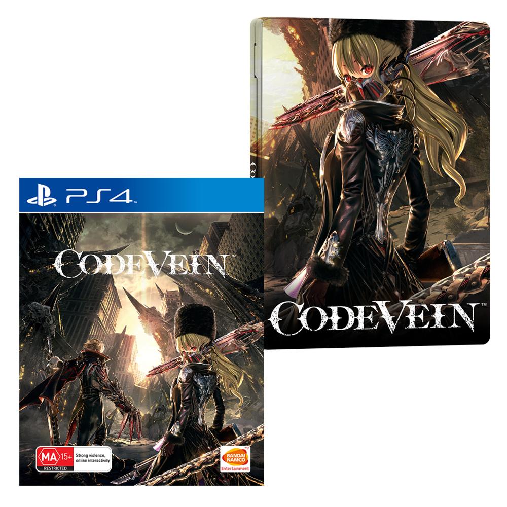 FuturePak Code Vein (No Steelbook) Steelbook Jeux Video SteelbookV Xbox One PS4