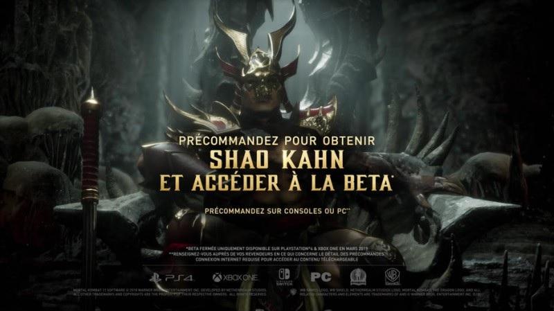 FuturPak - Steelbook - Mortal Kombat 11 - Shao Kahn - Béta - PS4 - Xbox One