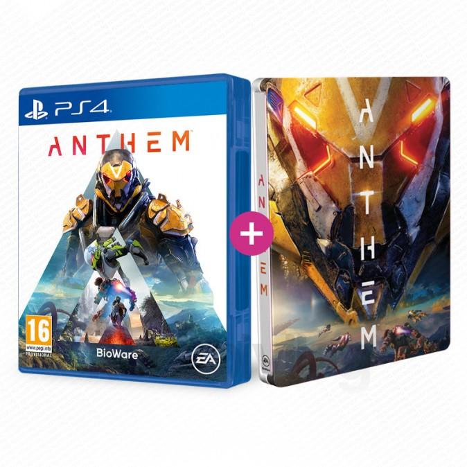 Le jeu Anthem sur PS4 + Le Steelbook
