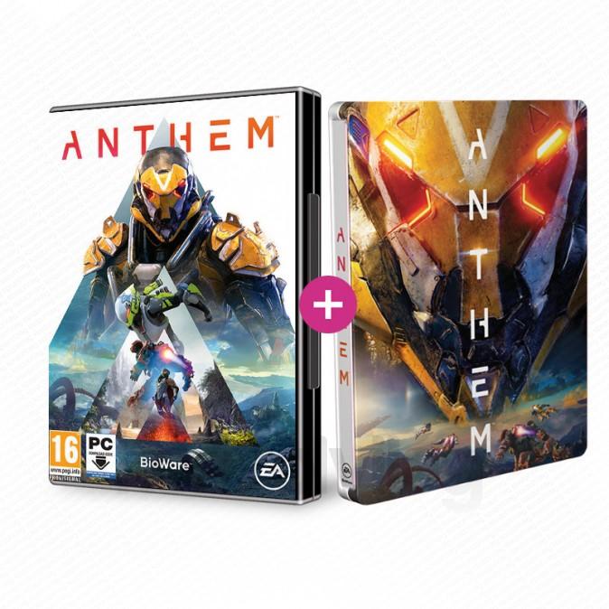 Le jeu Anthem sur PC + Le Steelbook