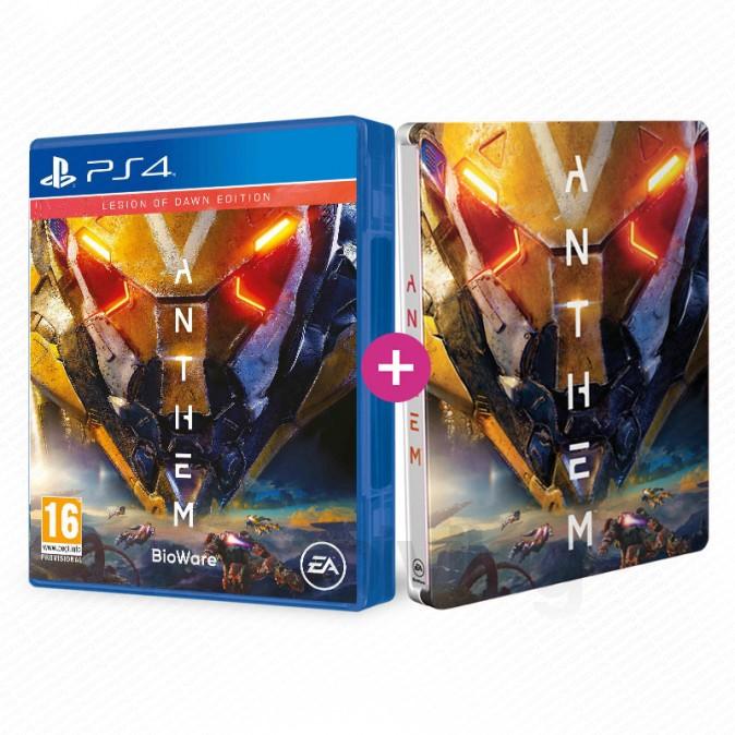 Le jeu Anthem Legion Of Dawn + Le Steelbook