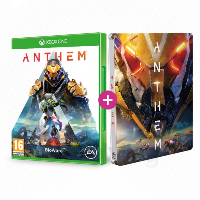 Le jeu Anthem sur Xbox One + Le Steelbook