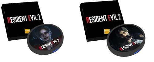 biohazard steelbookjeuxvideo steelbookV steelbook re2 resident evil 2 ps4 futurepak