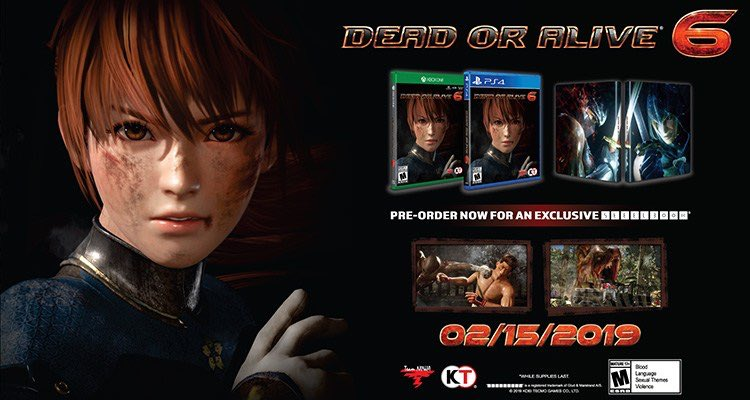 Steelbook Dead Or Alive 6 FuturePak Edition Collector Steelbook Jeux Video SteelbookV
