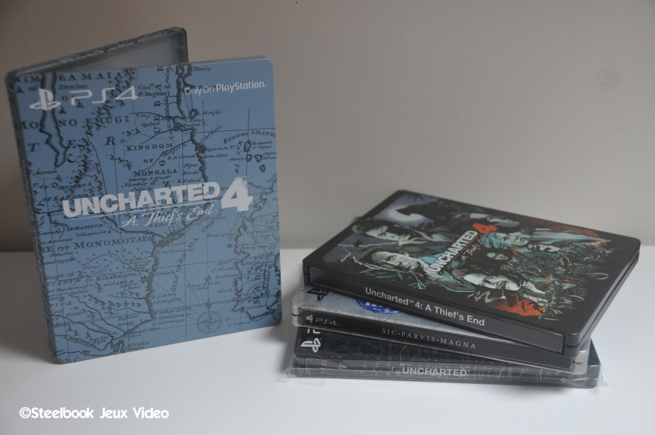 Collection Steelbook Uncharted PS4