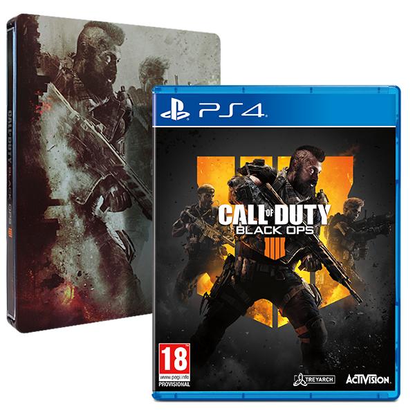 COD Black Ops IIII + le Steelbook sur PS4