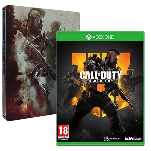 COD Black Ops IIII + le Steelbook sur Xbox One