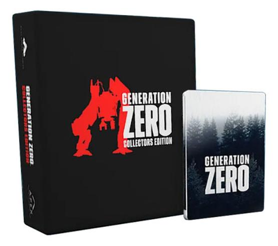 Steelbook du jeu Generation ZERO