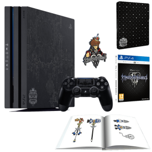 Contenu du Pack PS4 Pro 1TO edition Limited Kingdom Hearts III