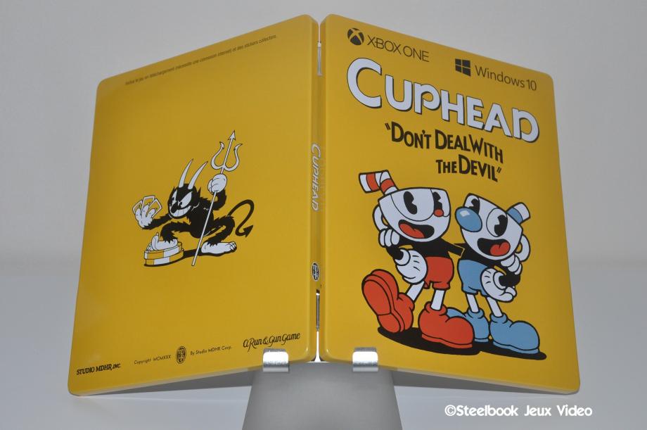FuturePak de Cuphead ( Steelbook )