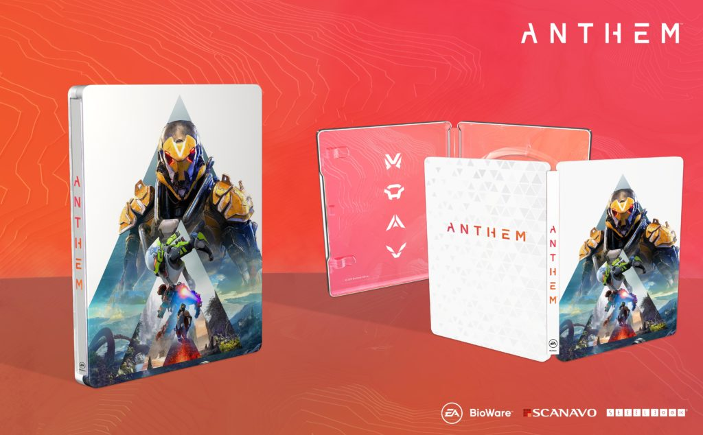 steelbookjeuxvideo steelbookV Steelbook Anthem FuturePak PS4 Xbox One