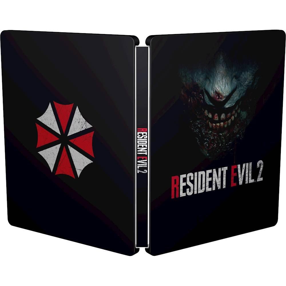 Visuel du Steelbook pour l'Europe de Resident Evil 2
