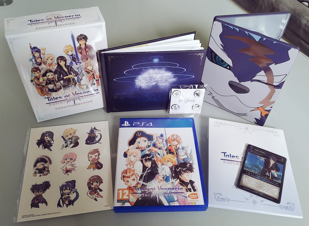 Steelbook FuturePak Tales Of Vesperia SteelbookJeuxVideo