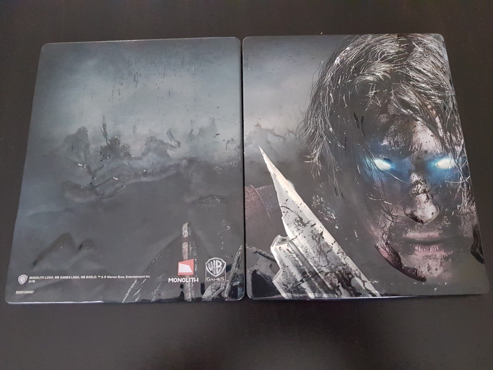 Steelbook FuturePak L'ombre de la guerre xbox One PS4