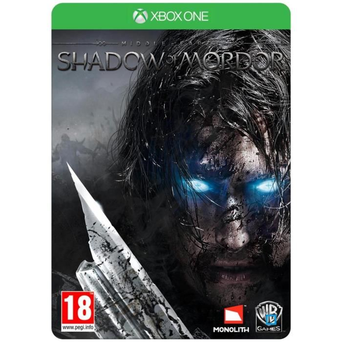 Futurepak Steelbook Xbox One PS4 L'ombre de la guerre
