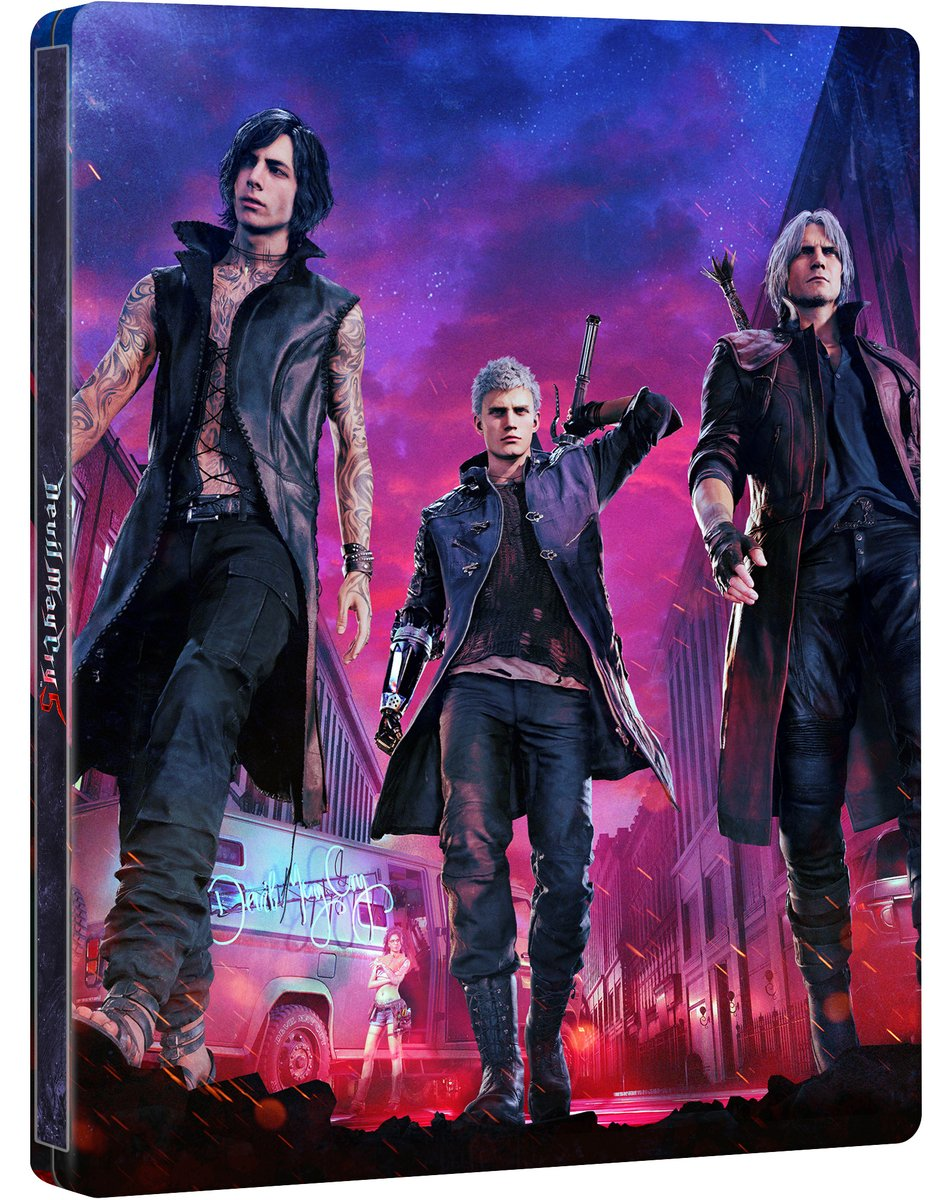 Steelbook FuturePak Devil May Cry 5 Jeux Video SteelbookV