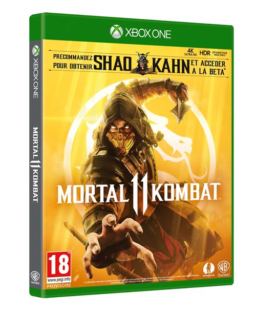 Edition Standard Mortal Kombat 11 - Xbox One