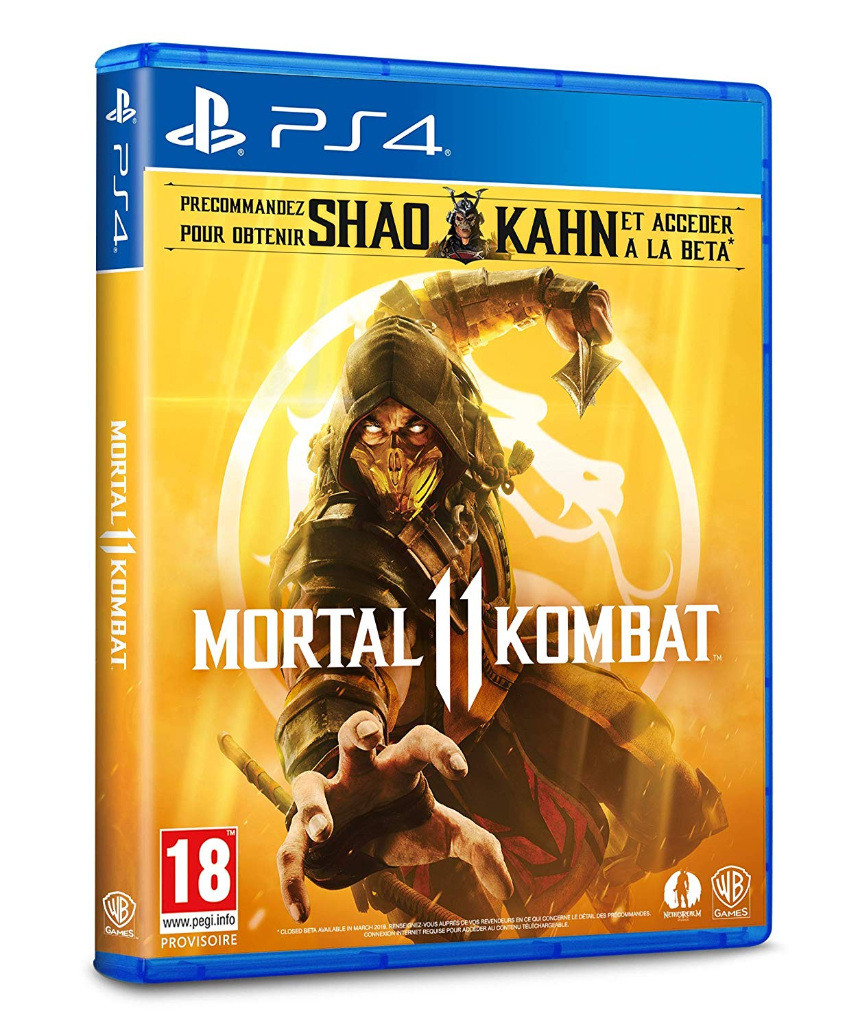 Edition Standard Mortal Kombat 11 - PS4