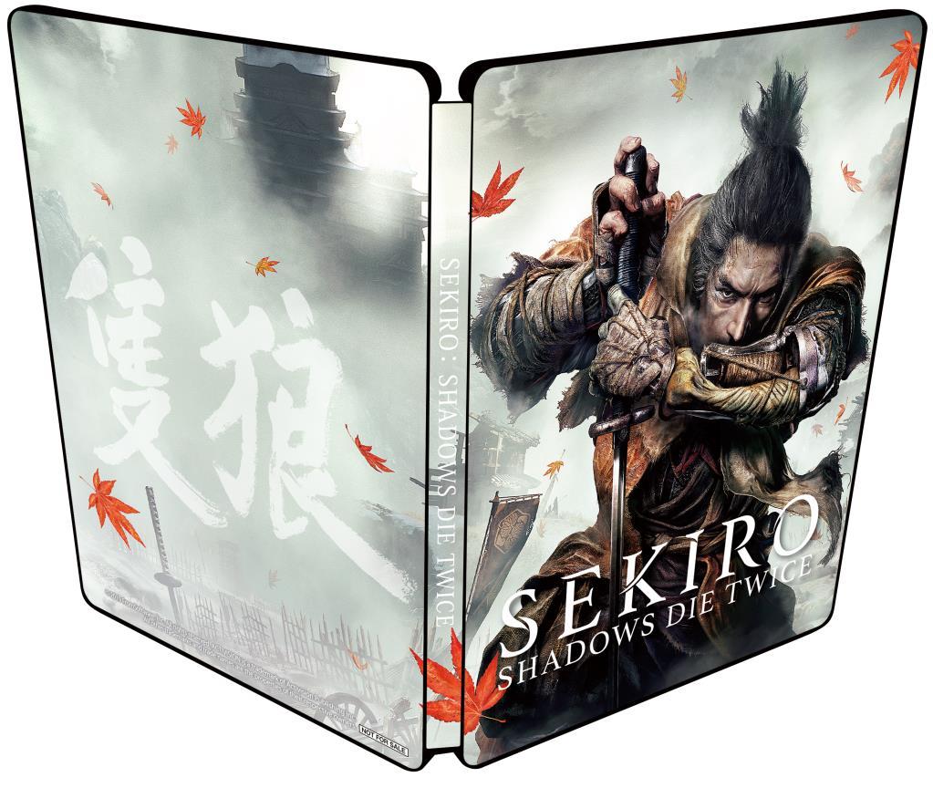 Steelbook de Sekiro Version Japonaise