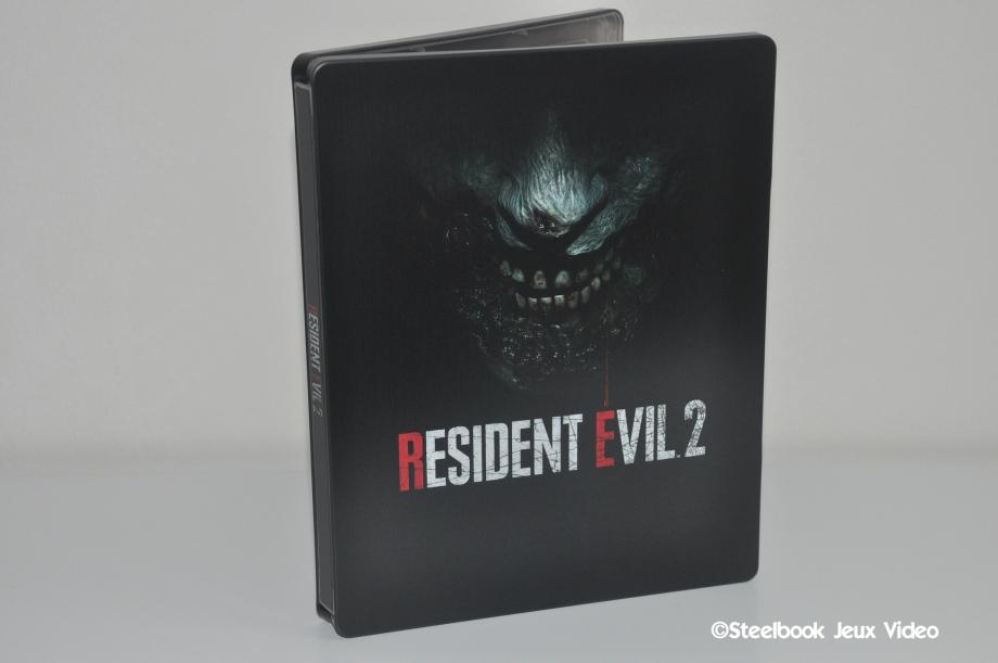 Steelbook du jeu Resident Evil 2 Remake (2019)