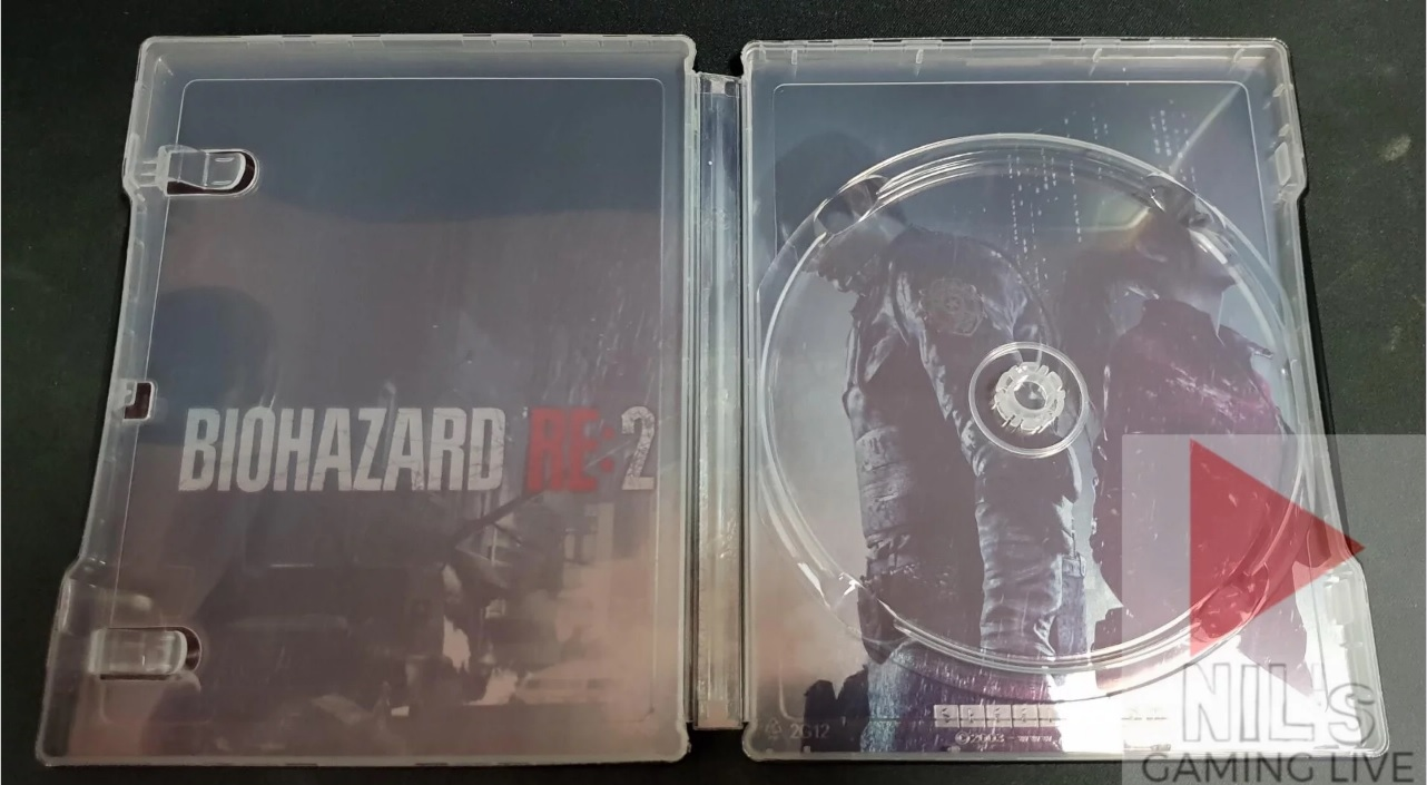 Resident evil 2 Re2 Steelbook FuturePak Edition Collector Limited SteelbookV SteelbookJeuxVideo Steelbookcollection Steelbookcollector Steelbookaddict PS4 XboxOne