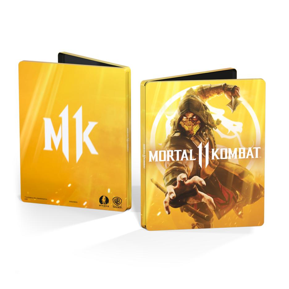 Kollector Steelbook FuturePak Edition Collector Mortal Kombat 11 Stellbook Jeux Video SteelbookV Novobox