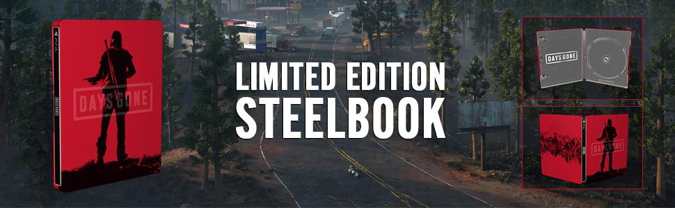 Steelbook FuturePak Edition Collector Limited SteelbookV SteelbookJeuxVideo Steelbookcollection Steelbookcollector Steelbookaddict PS4 XboxOne Days Gone