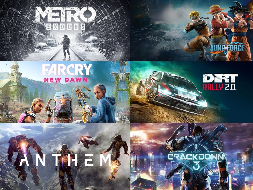 Steelbook FuturePak Edition Collector Limited SteelbookV SteelbookJeuxVideo Steelbookcollection Steelbookcollector Steelbookaddict PS4 XboxOne Dirt Rally 2.0 Jump Force Anthem Far Cry New Dawn Metro Exodus Crackdown 3