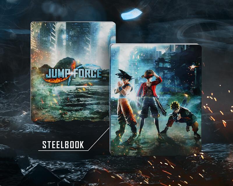 Jump Force Steelbook FuturePak Edition Collector Limited SteelbookV SteelbookJeuxVideo Steelbookcollection Steelbookcollector Steelbookaddict PS4 XboxOne