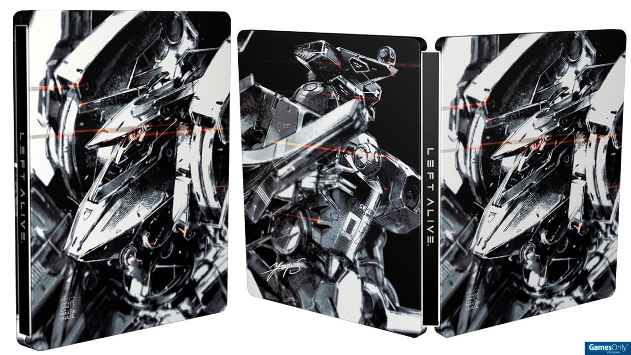 Left Alive Steelbook FuturePak Edition Collector Limited SteelbookV SteelbookJeuxVideo Steelbookcollection Steelbookcollector Steelbookaddict PS4 XboxOne