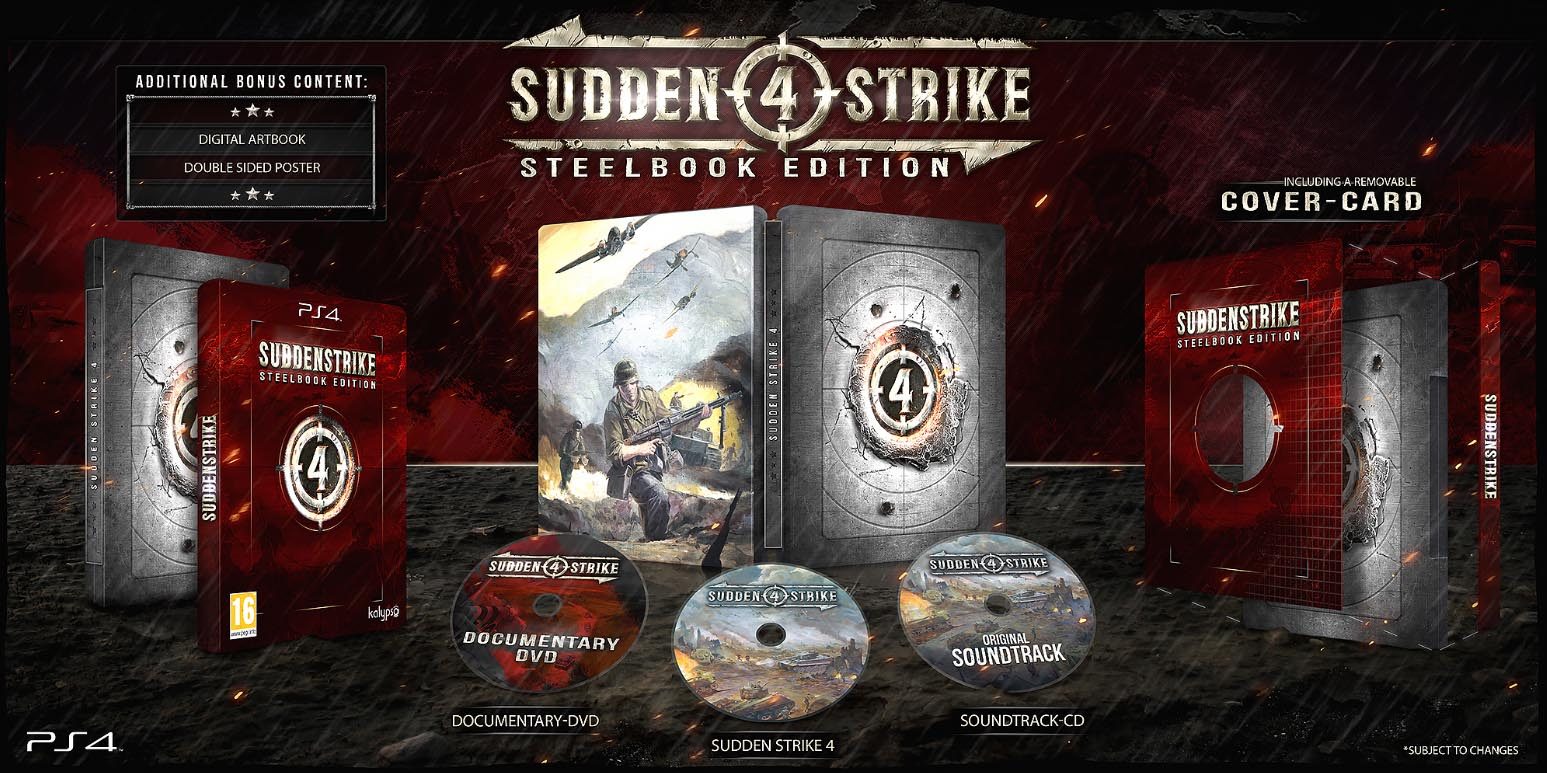 Sudden Strike 4 Steelbook FuturePak Edition Collector Limited SteelbookV SteelbookJeuxVideo Steelbookcollection Steelbookcollector Steelbookaddict PS4 XboxOne