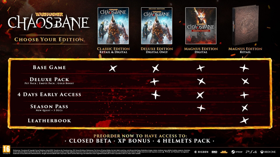 Warhammer Chaosbane Edition Magnus Steelbook FuturePak Edition Collector Limited SteelbookV SteelbookJeuxVideo Steelbookcollection Steelbookcollector Steelbookaddict PS4 XboxOne