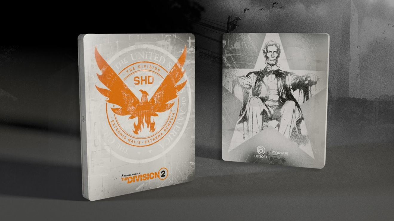 Tom Clancy's The Division 2 Steelbook FuturePak Edition Collector Limited SteelbookV SteelbookJeuxVideo Steelbookcollection Steelbookcollector Steelbookaddict PS4 XboxOne