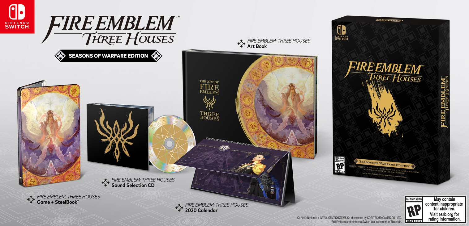 Fire Emblem Three Houses Steelbook Edition Spéciale Collector
