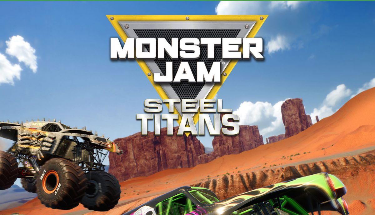 Steelbook Monster Jam Steel Titans