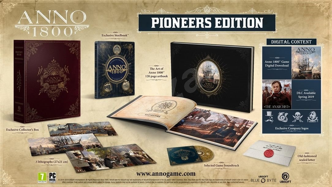Edition Collector Pionniers Anno 1800