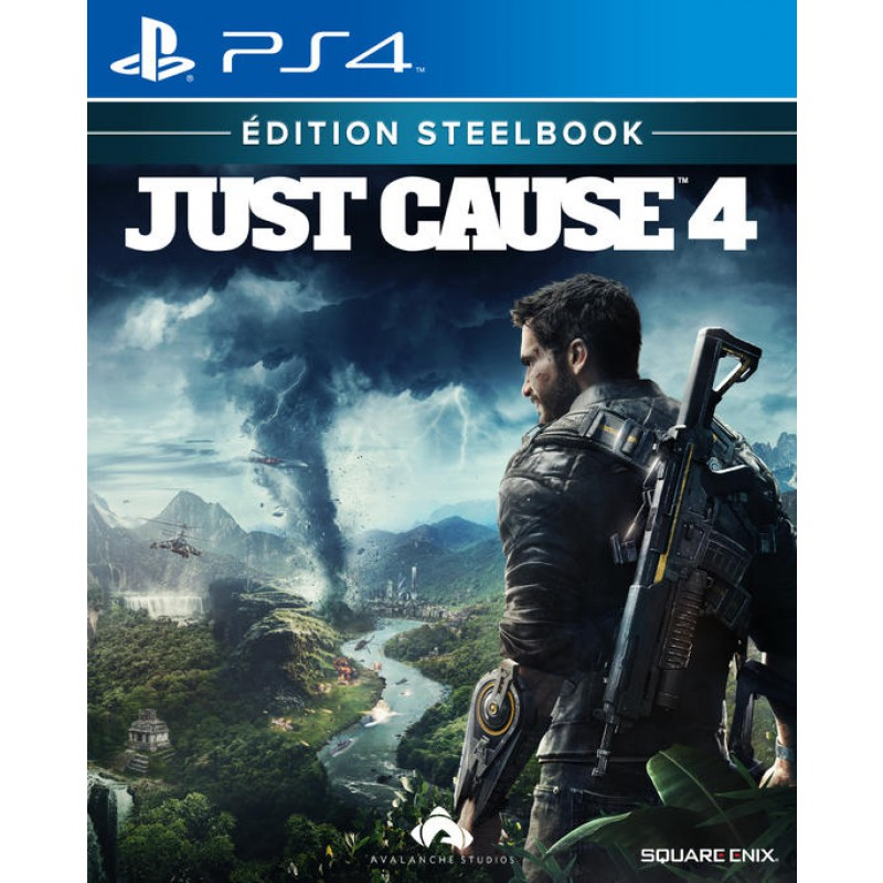 Just cause 4 edition steelbook
