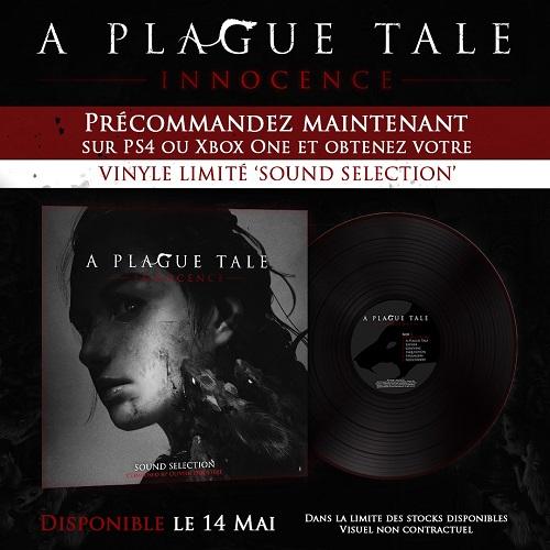 Vinyle offert Micromania A Plague Tale Innoncence