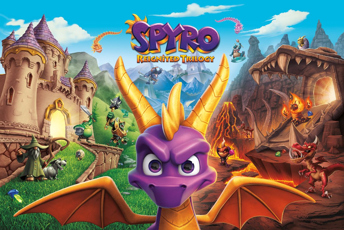 Spyro Reignited Trilogy - FuturePak