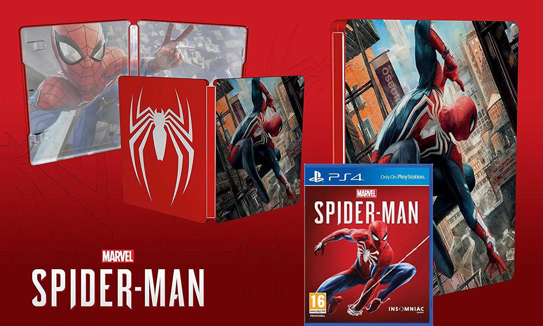 Steelbook Spider-Man