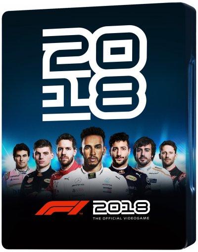 F1 2018 - Steelbook