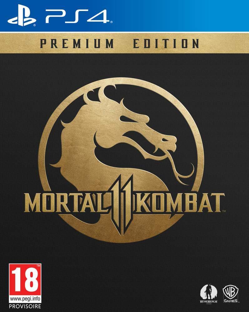 Premium Edition Mortal Kombat 11 PS4
