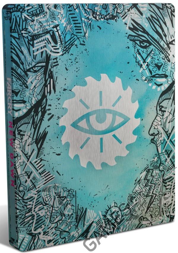 Steelbook de Far Cry New Dawn - 16,99 € - Lien direct :  https://www.gamesonly.at/Far_Cry_New_Dawn_Sammler_Steelbook_Merchandise_11567.html