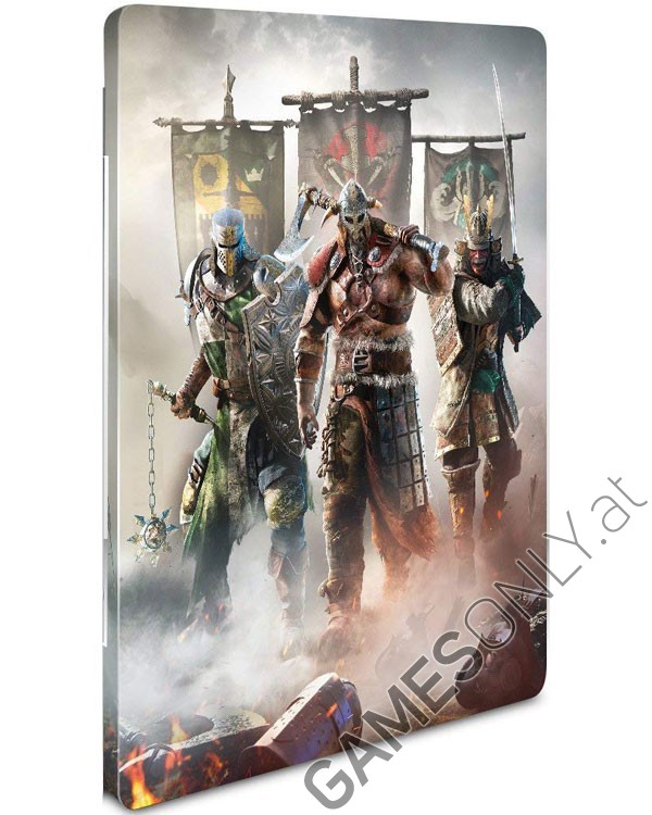 Steelbook For Honor - 12,99 € - Lien Direct :  https://www.gamesonly.at/For_Honor_Sammler_Steelbook_Merchandise_11046.html