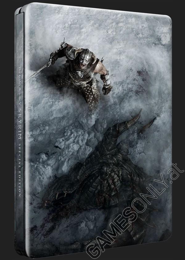 Steelbook Skyrim The Elder Scrolls 5 - 14,99 € - Lien Direct :  https://www.gamesonly.at/The_Elder_Scrolls_V__Skyrim_Sammler_Steelbook_Merchandise_11661.html