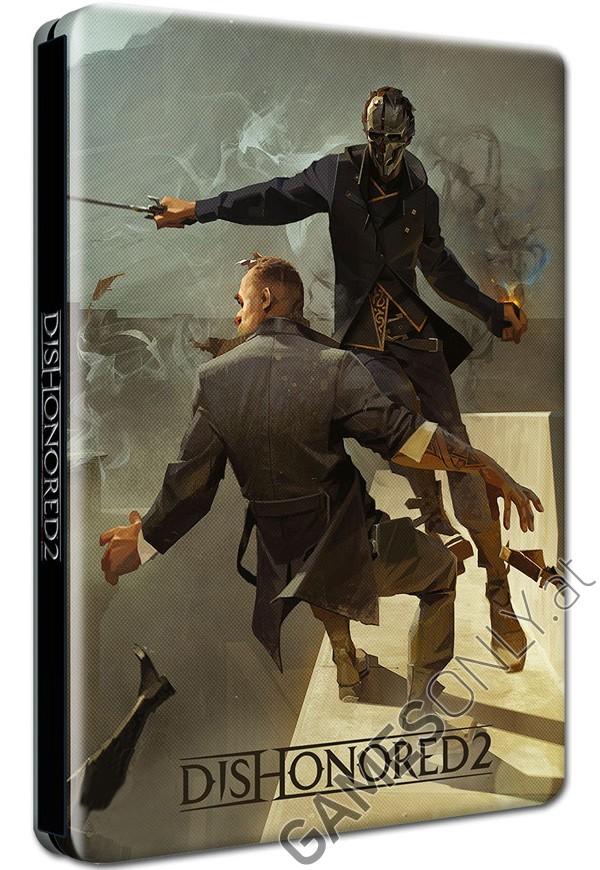 Steelbook Dishonored 2 - 14,99 € - Lien Direct :  https://www.gamesonly.at/Dishonored_2_Sammler_Steelbook_Merchandise_11700.html
