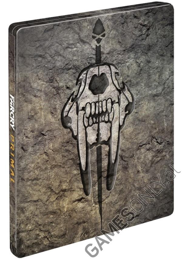 Steelbook Far Cry Primal - 14,99 € - Lien Direct :  https://www.gamesonly.at/Far_Cry_Primal_Sammler_Steelbook_Merchandise_11656.html
